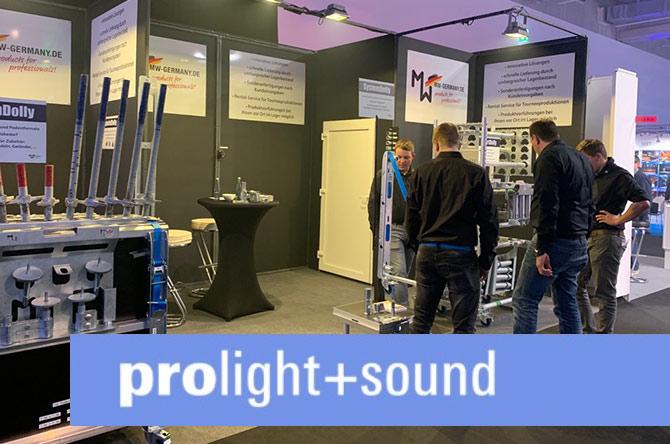 Die Prolight & Sound war ein voller Erfolg!